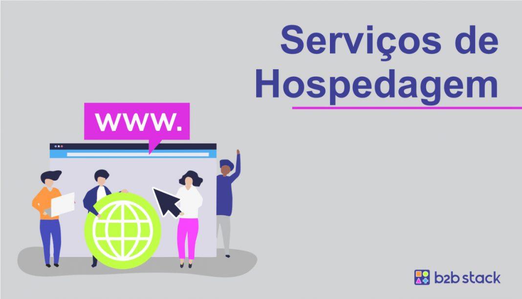 serviços de hospedagem
