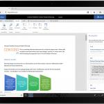 Tela do Office 365