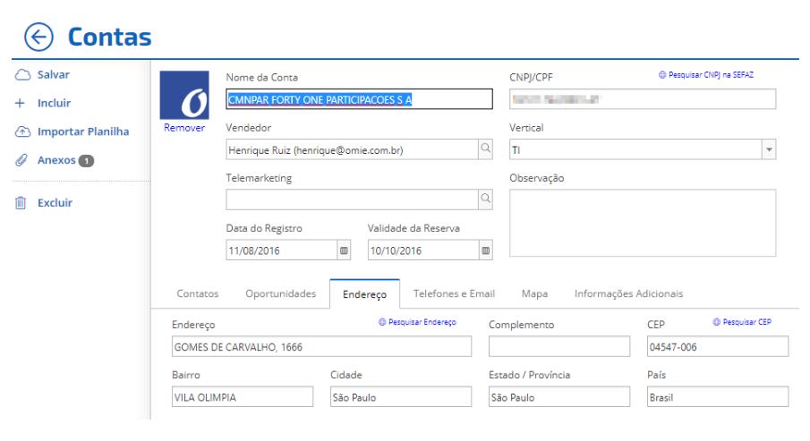 Omie é um ERP online voltado para pequenas empresas de qualquer segmento