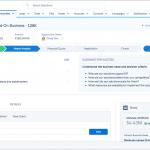 Tela do Sales Cloud, o CRM da Salesforce