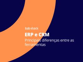 Capa diferença ERP e CRM