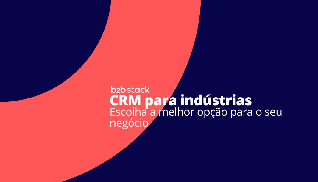 capa melhores CRM para indústria
