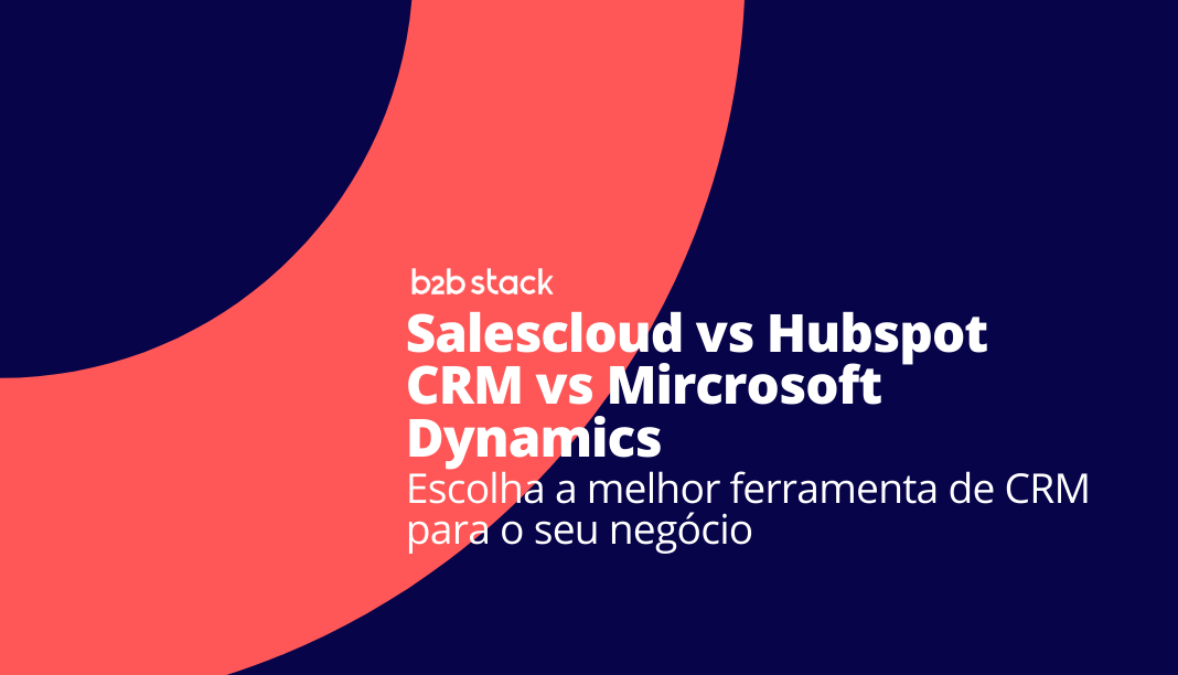 Capa comparativo Salescloud vs Hubspot vs Dynamics CRM
