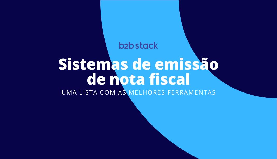 Capa artigo melhores sistemas de nota fiscal