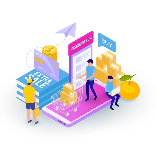 E-commerce no atacado e no varejo