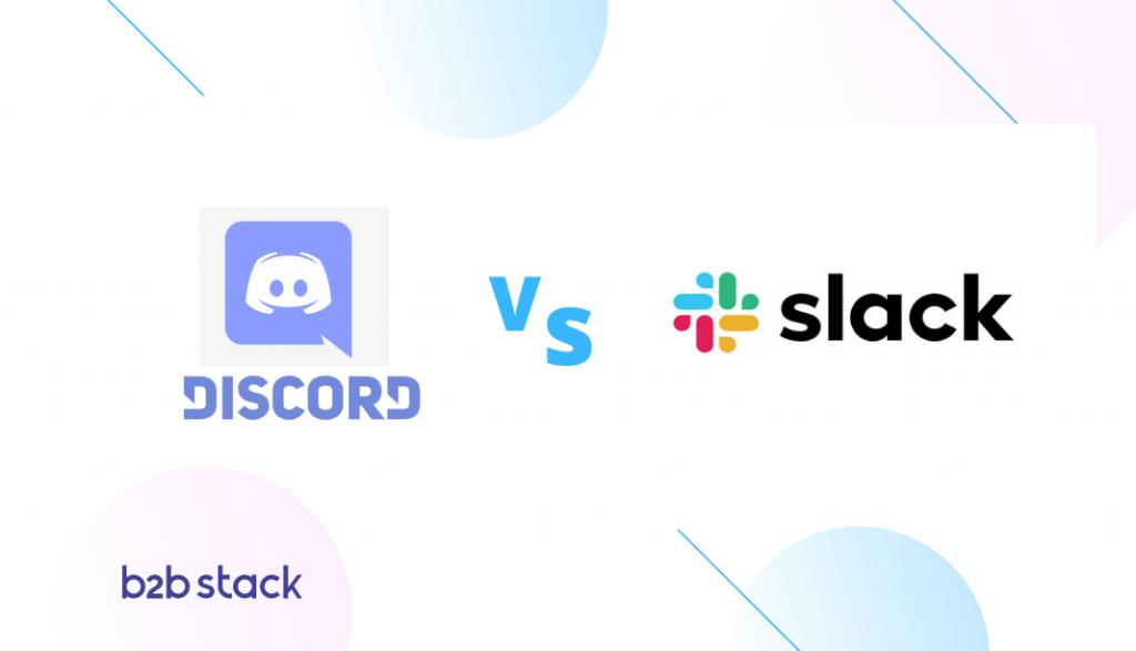 comparação entre slack e discord