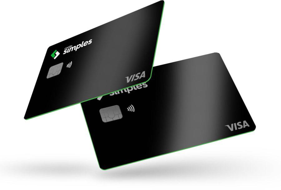 Imagem mostrando dois cartões do Conta simples