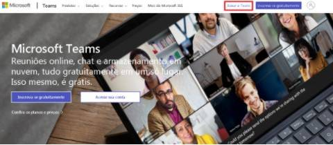 Como baixar o Microsoft Teams?
