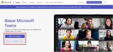 Como baixar o Microsoft Teams no Android e IOS