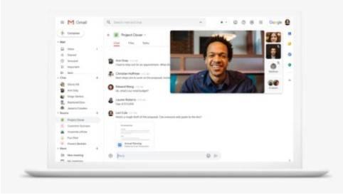 Como usar o Google Meet