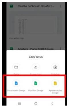 Como usar o Google Drive no Celular
