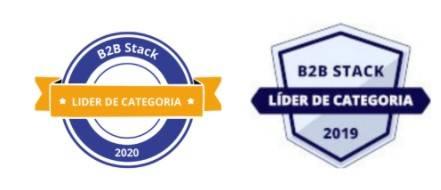 Selos de premiação do B2B Awards