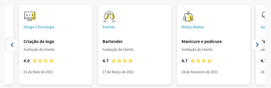 icones do aplicativo da Getnninjas